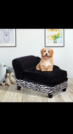 Legowisko, sofa dla psa ze schowkiem
