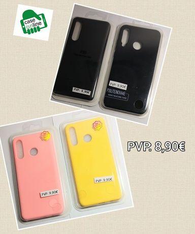 Capa Silky Soft Touch P/ Huawei P30 / P30 Lite / P30 Pro -Nova-24h