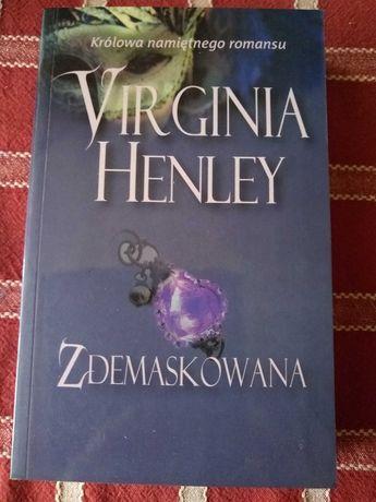 Książka romans - Virginia Henley - Zdemaskowana