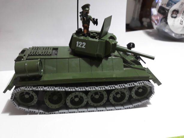 Klocki Cobi army 2438 F34 Medium Tank plus Gratis
