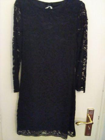 Vestido Renda Preto Novo