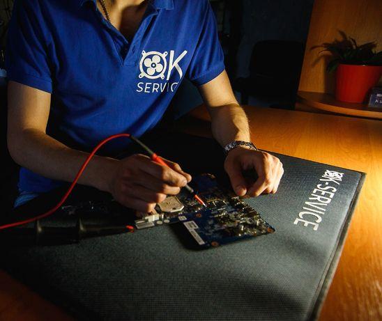 OK-SERVICE. Ремонт компьютеров и ноутбуков.Ремонт телефонов, планшетов
