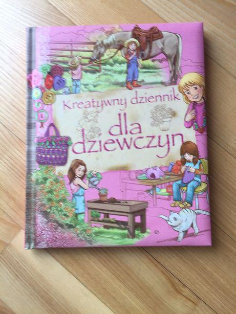 Kreatywny Dziennik dla dziewczyn