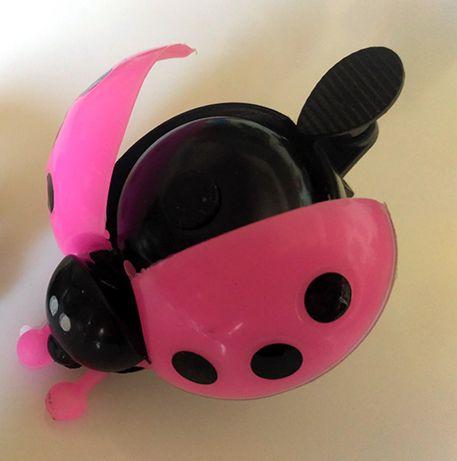 Звоночек звонок вело велосипед самокат беговел розовая божья коровка