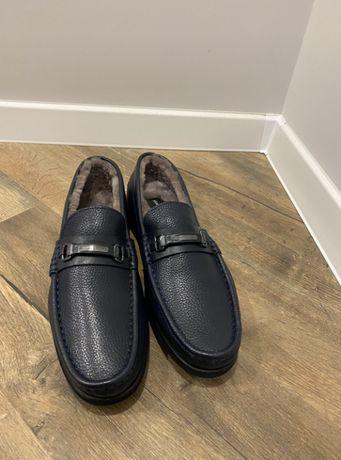Моксини / Мокасины / Ботинки / Туфли зимние Roberto Serpentini