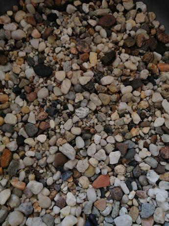 Kamień żwirek do akwarium gruby
