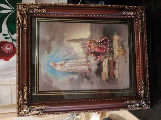 Obraz święty- świecący 2 sztuki