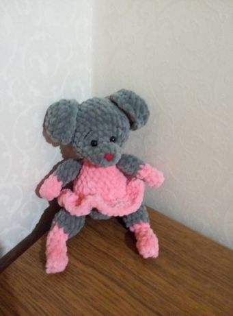 Новая мягкая вязаная мышка