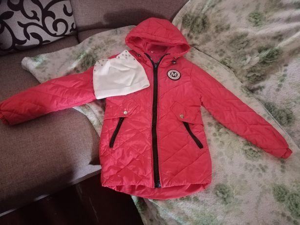 Курточка осень на девочку.