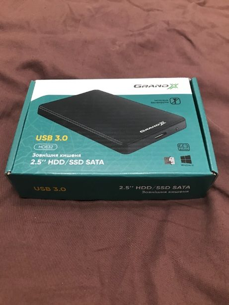 Внешний жёсткий диск HDD 1 TB USB 3.0