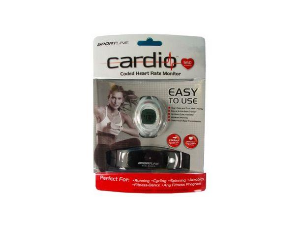 Sportline 660 Cardio zegarek sportowy + pulsometr