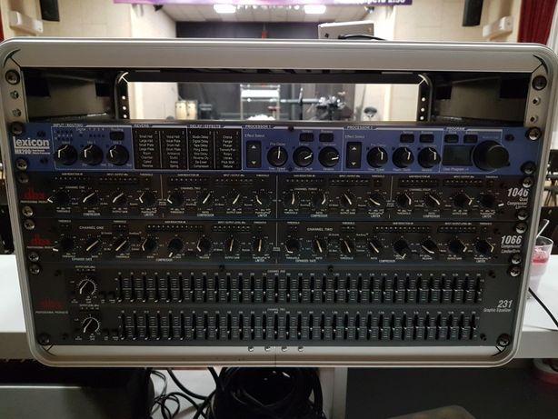 Мультикор 30м, dbx 1066, dbx 1046. Lexicon mx200