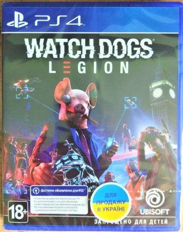 Watch Dogs: Legion. Новый Диск для РS4\РS5, Запечатанный, Русский