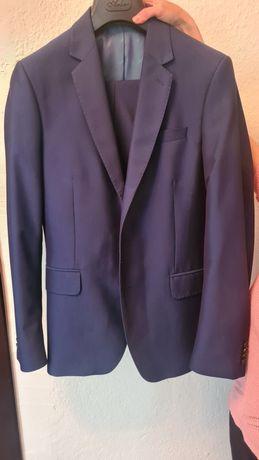 Классический костюм синий