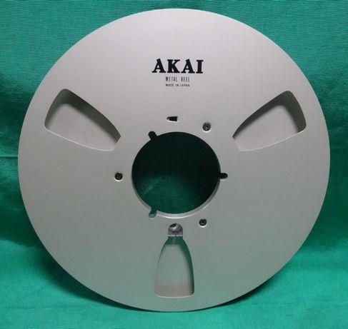Продам алюминиевую катушку AKAI -26.5 см - ORIGINAL