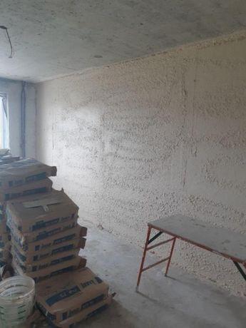 Отделочные работы, шпатлевка, штукатурка стен