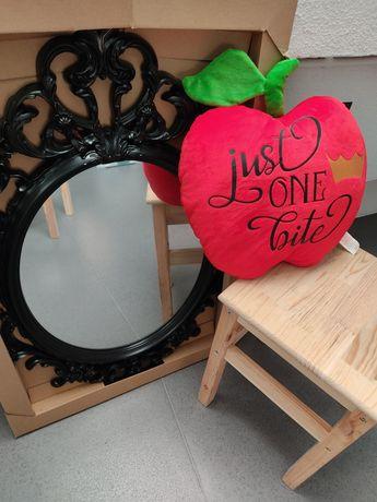 Kit branca de neve: espelho e maçã (aluguer)