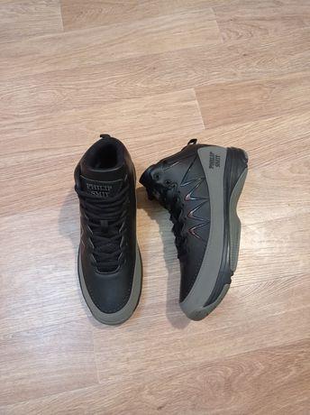 43р новые зимние ботинки Philip Smit