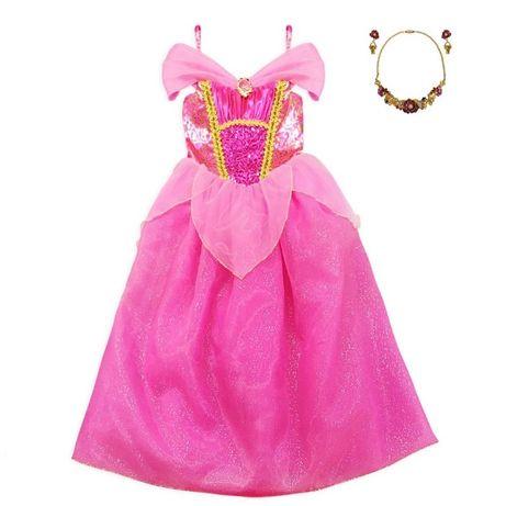 Платье принцессы Авроры Disney и украшения Авроры