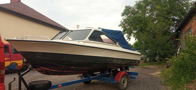 Łódka motorowa + silnik 50KM