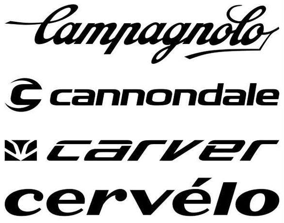 Campagnolo CANNONDALE CARVER CERVELO naklejki na rower kask 6 szt