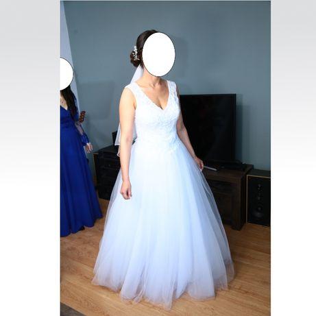 suknia ślubna, rozmiar 38-42