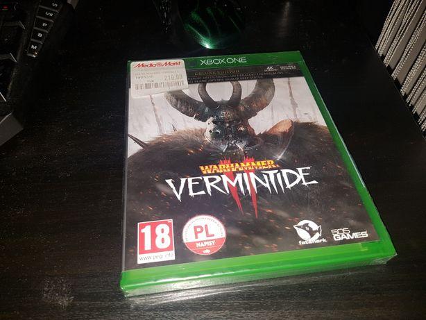 X box one  Warhammer  Vermintide NOWA
