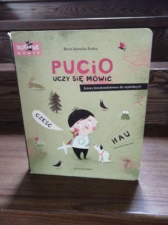 Ksiąźka Pucio uczy się mówić - M. Galewskiej - Kustry