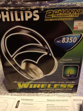 Słuchawki bezprzewodowe Philips HC 8350