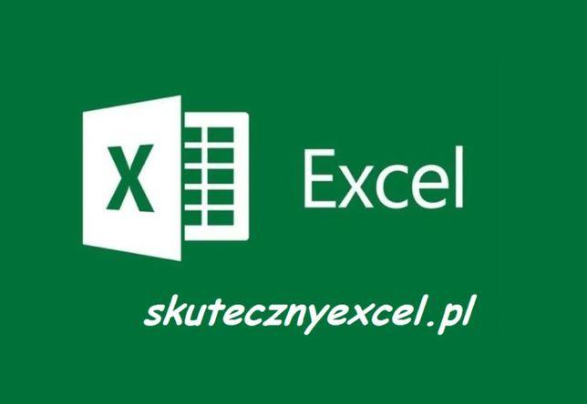 EXCEL: Usługi zdalne, Wsparcie Online, Analizy, Doradztwo, Szkolenia