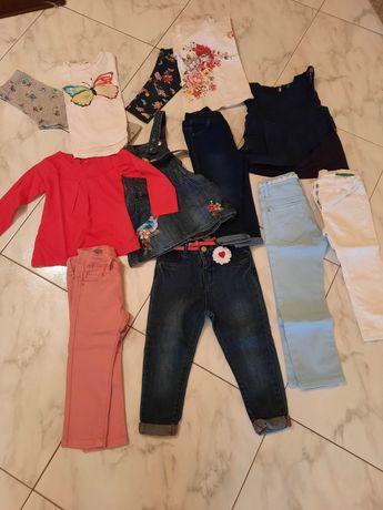 Calças e camisolas menina
