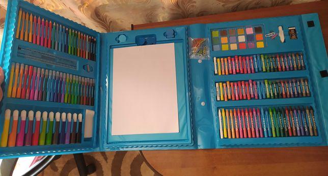 ОГРОМНЫЕ наборы для рисования с МОЛЬБЕРТОМ! + 10 раскрасок в ПОДАРОК.