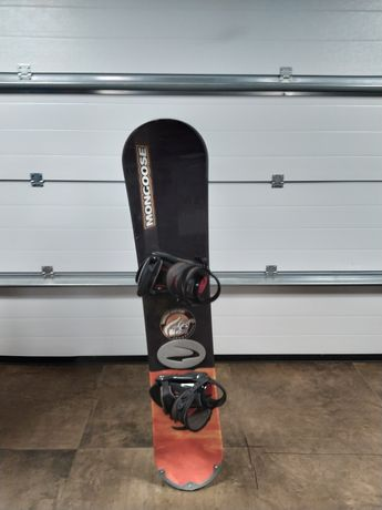 Deska Snowbordowa Mongoose + Buty snowboardowe Freedom.