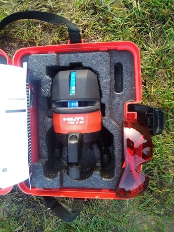 Laser krzyżowy Hilti PM 4-M