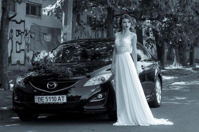 Невероятной красоты свадебное платье