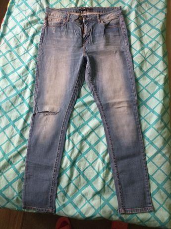 Spodnie jeansowe rozmiar L