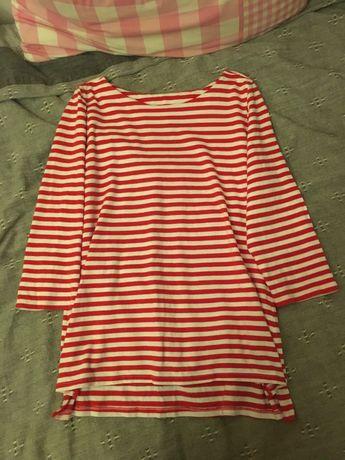 Bawełniana bluzka w paski Next
