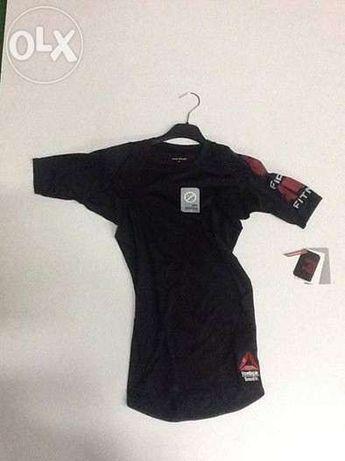 Reebok crossfit tshirt compressão