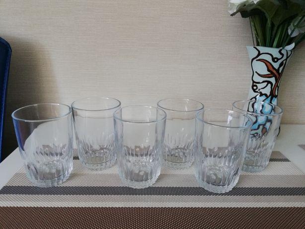 Новый набор стаканов 6 шт Рasabahce. 250 мл.