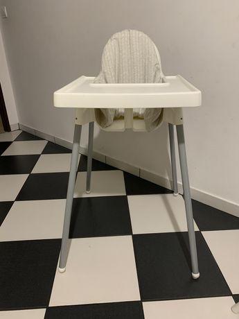 Krzesełko do karmienia Ikea, plus schodek
