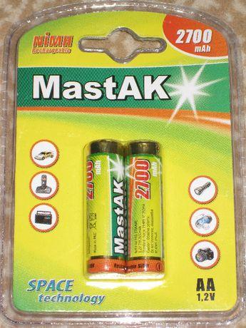 Аккумулятор MastAK AA (R6) 2700 mAh Ni-Mh серии «Space Technology»