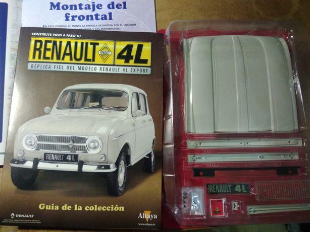Renault 4L em miniatura - Parte Frontal