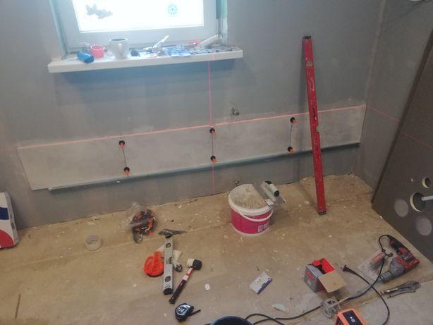 Remonty elektryka hydraulika skręcanie mebli malowanie agregatem.