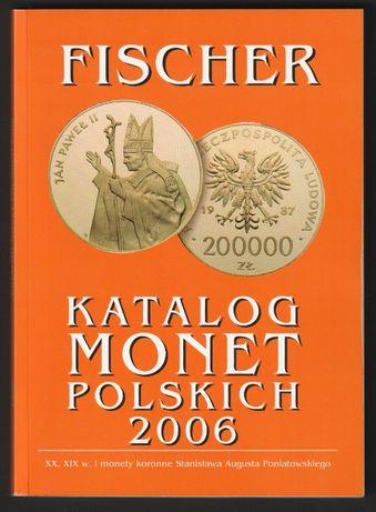 Katalog monet polskich 2006 - Fischer - Andrzej Fischer