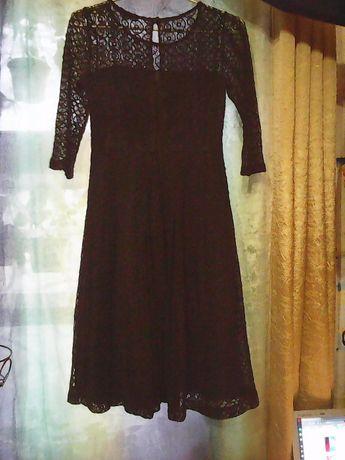 Нарядное кружевное платье р.44-46 для праздника,вечеринки.выпускного