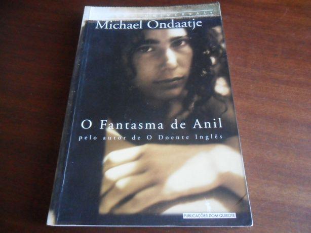 """""""O Fantasma de Anil"""" de Michael Ondaatje"""