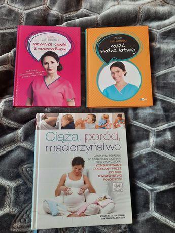 Książki poród niemowlak ciąża