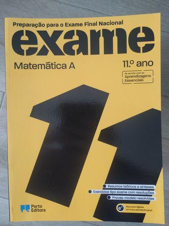 Livros de preparação de exames Matemática 11 ° e 12° Porto EditorNOVOS
