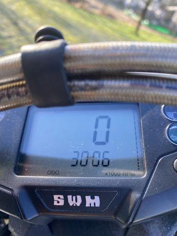 Swm 125 r.      3000 km zarejestrowany w pl