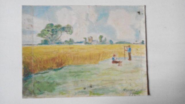 Акварель 1924г. подписная